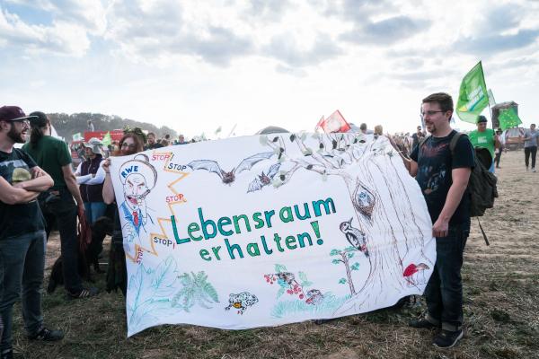 Hambacher Wald Okt. 2018